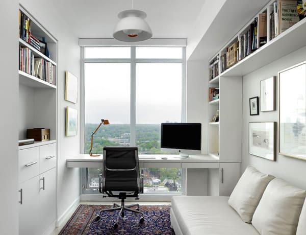 aranżacja biura w domu